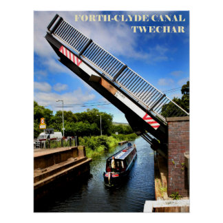 forth & clyde canal poster