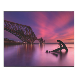 Forth Rail Bridge At Sunset | Scotland