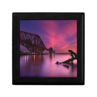 Forth Rail Bridge At Sunset | Scotland Gift Box