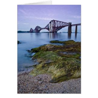 Forth Rail Bridge Card