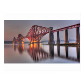 Forth Rail Bridge Postcard