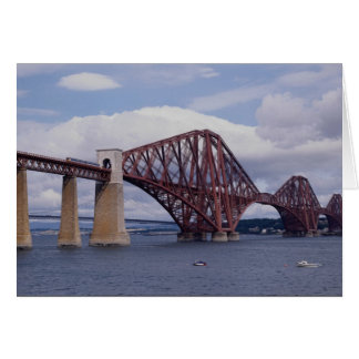 Forth Rail Bridge, Scotland Card