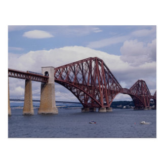 Forth Rail Bridge, Scotland Postcard