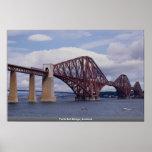 Forth Rail Bridge, Scotland Poster