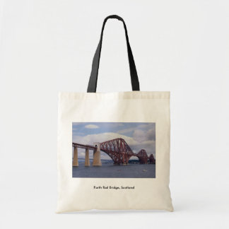 Forth Rail Bridge, Scotland Tote Bag