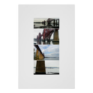 Forth Rail Bridge Views Poster