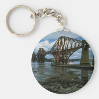 Forth Railway Bridge over Firth Scotland Key Chain