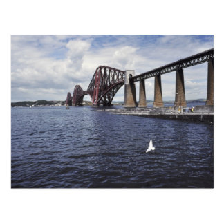 Forth Railway Bridge UK Postcard