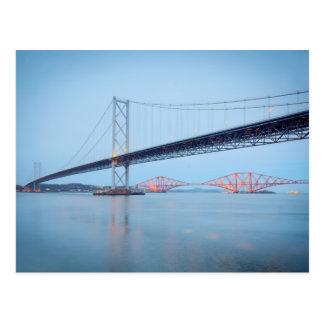 Forth Road and Rail Bridge Postcard