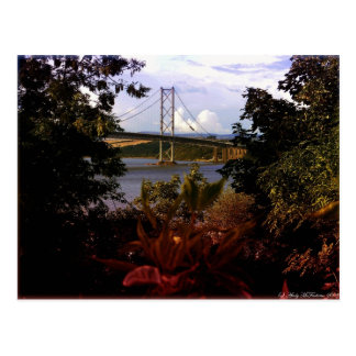 Forth Road Bridge Postcard