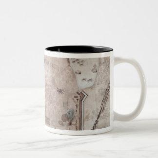 Fortified Encampment, Puerto Rico Two-Tone Coffee Mug