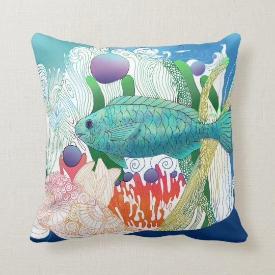 Fortnight Fish Pillow