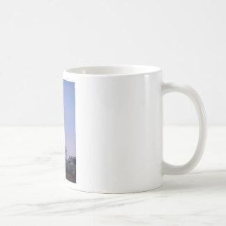 fortress clocktower basic white mug