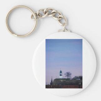 fortress clocktower key chain