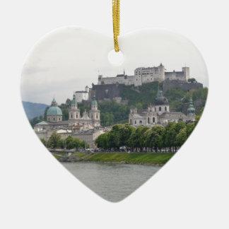 Fortress Hohensalzburg, Salzburg, Austria Christmas Ornament