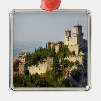 Fortress of Città di San Marino, Italy Christmas Ornament