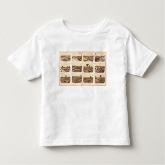 Forts, batteries, Atlanta, Ga Toddler T-Shirt