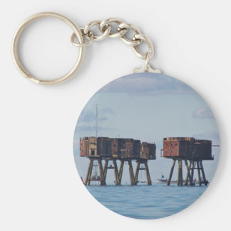 Forts In The Thames Estuary Key Chain