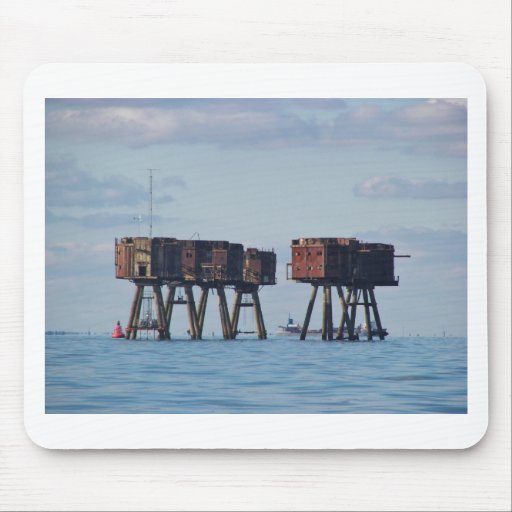 Forts In The Thames Estuary Mousepad