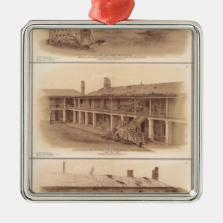 Forts Sumter & Moultrie Christmas Ornament