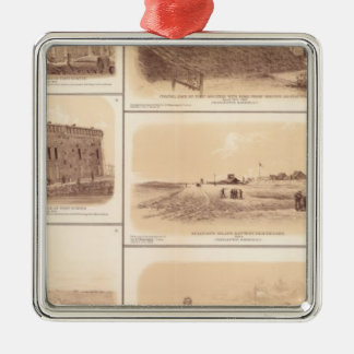 Forts Sumter & Moultrie, Sullivan's Island Christmas Ornament