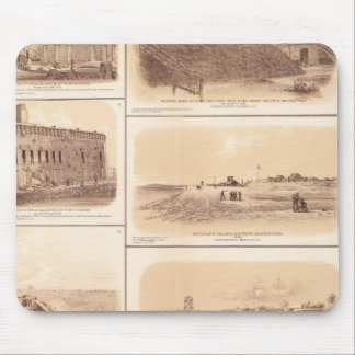 Forts Sumter & Moultrie, Sullivan's Island Mouse Pad