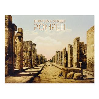 Fortuna Street, Pompeii, Italy Post Cards