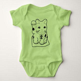 """""""Fortune Cat"""" Baby Bodysuit"""