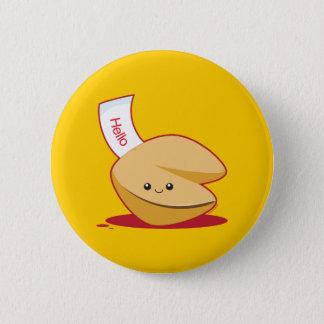 Fortune Cookie 6 Cm Round Badge