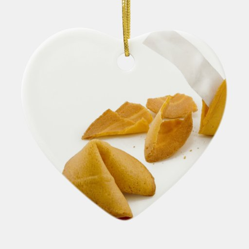 Fortune Cookie Ornaments