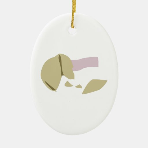 Fortune Cookie Christmas Ornament