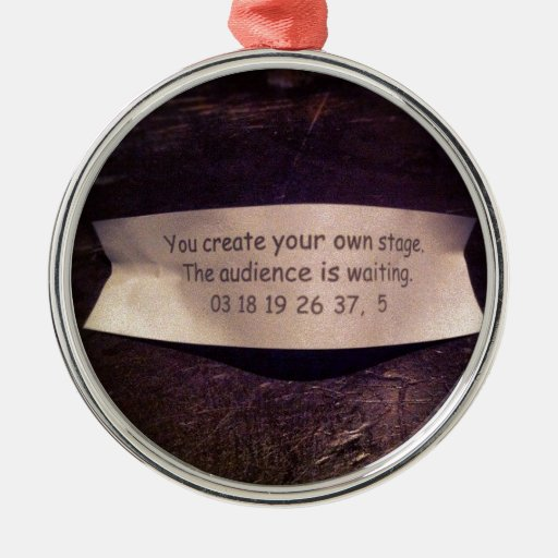 Fortune Cookie Quote Ornaments