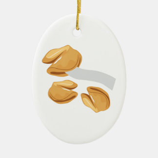 Fortune Cookies Christmas Ornaments