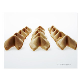 Fortune Cookies in three rows Postcard