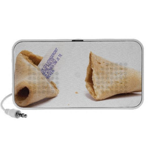 fortune cookies notebook speaker
