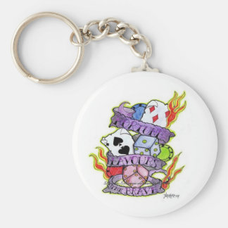 Fortune Favours Key Ring