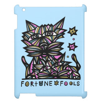 """""""Fortune Fools"""" 631 Art iPad Case"""