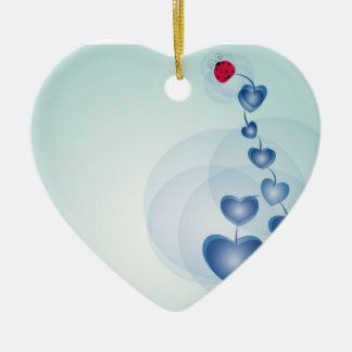 fortune in love christmas ornament
