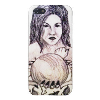 Fortune teller, crystal ball iphone cover iPhone 5 cases