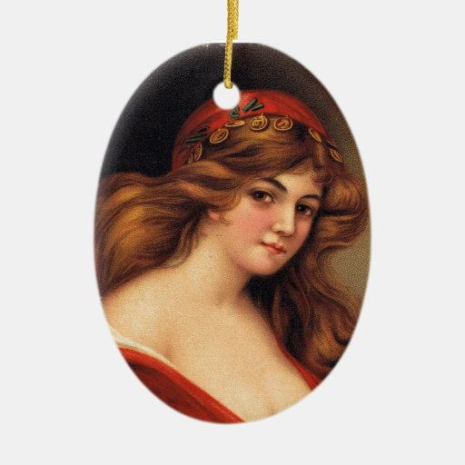 Fortune Teller Christmas Ornament