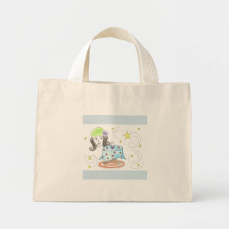 fortune teller mini tote bag