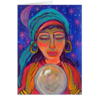 Fortune Teller Note Card