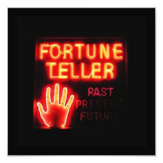 Fortune Teller - Past Present Future Photographic Print