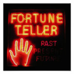 Fortune Teller - Past Present & Future Posters