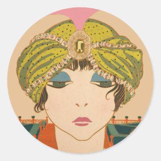 Fortune Teller Round Sticker