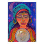 Fortune Teller Stationery Note Card