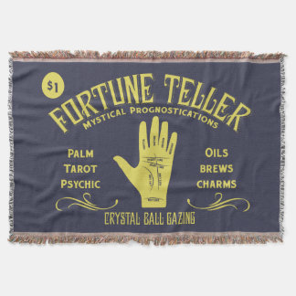 Fortune Teller Throw Blanket