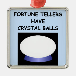 fortune tellers christmas tree ornament