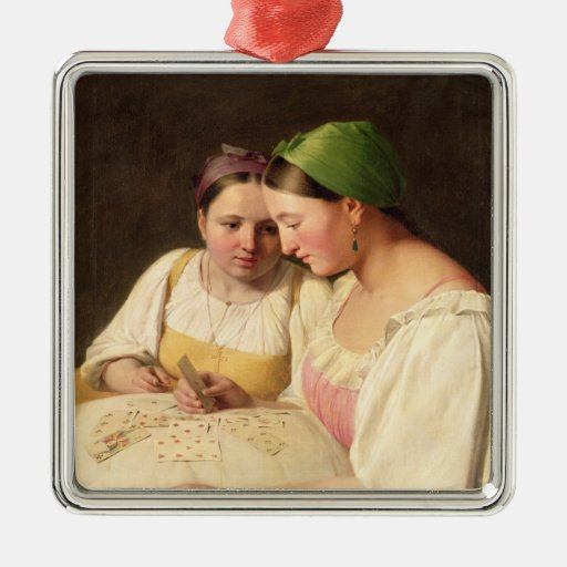 Fortune-Telling, 1842 Christmas Tree Ornament