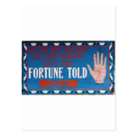 Fortunes Told Postcards